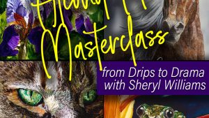 Alcohol Ink Master Class with Sheryl Williams